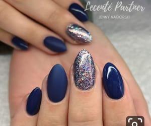 acrylics, beauty, and blue image