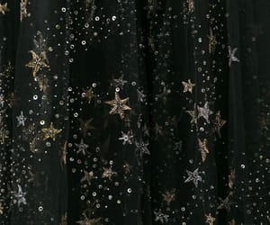 stars, aesthetic, and gold image
