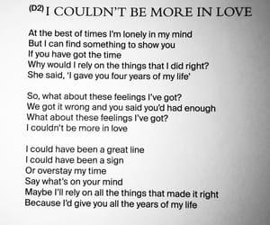 Lyrics, the 1975, and aoeior image