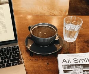 coffee, desk, and cozy image