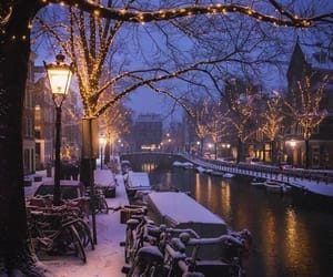 amsterdam, beautiful, and christmas image