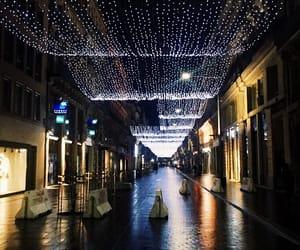 christmas, city, and france image