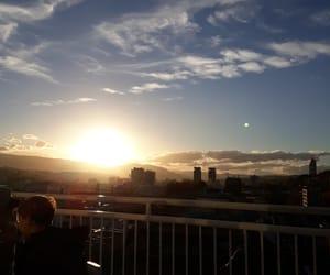 city, sunshine, and view image