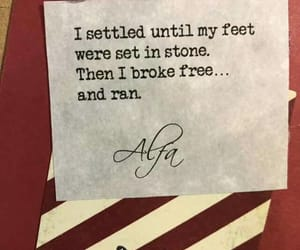 broke, feet, and free image