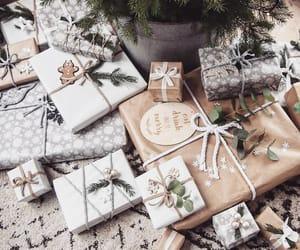 christmas, christmas gift, and christmas tree image