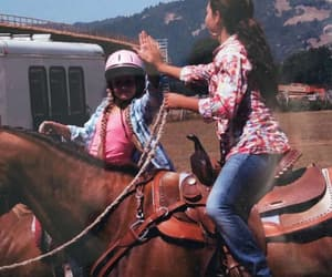 brown, ranch, and riding image