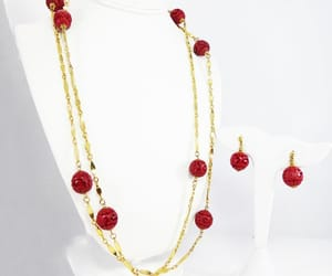 beaded necklace, stations, and beadednecklace image