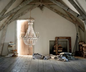 chandelier, home, and interior image