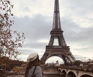 autumn, eiffel, and francia image