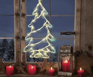 candles, lights, and christmas image