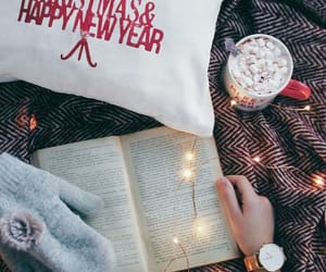 article, book, and christmas image