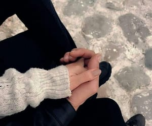 couples, holding hands, and Relationship image