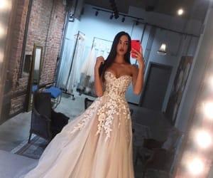 fashion, wedding, and bride image