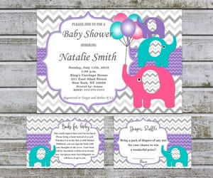 etsy, baby shower invites, and book request image