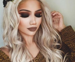 autumn, cool, and make up image