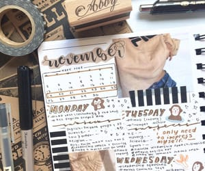 beige, Collage, and journaling image
