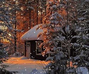 cozy, snow, and gif image