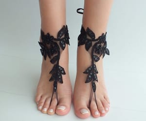 etsy, anklet lace, and steampunk image