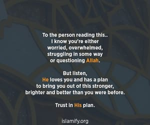 allah, believe, and love image
