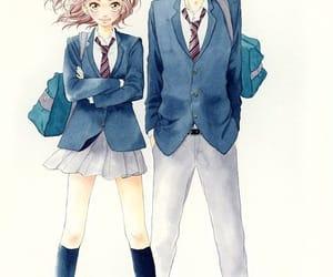anime girl, girl, and lovely image