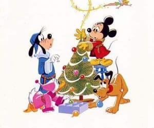 christmas, christmas tree, and disney image