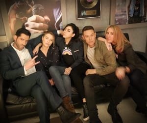 lucifer, tom ellis, and aimee garcia image