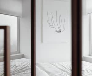 bedroom, beige, and classy image