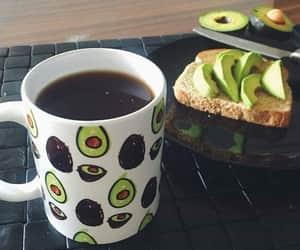 avocado, cafe, and comida image
