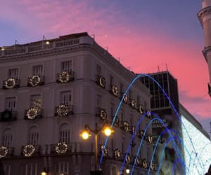 aesthetic, christmas, and madrid image