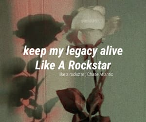 rockstar, like a rockstar, and chase atlantic image