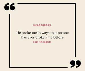 breakup, broken, and heartbreak image