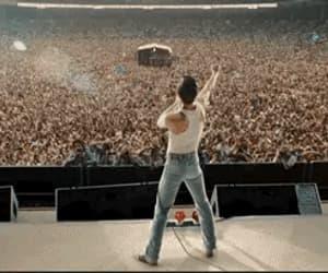 Freddie Mercury, rami malek, and celebrity famous image