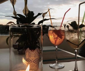 Cocktails, scenery, and view image