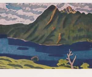 landscape, etsy, and japan image