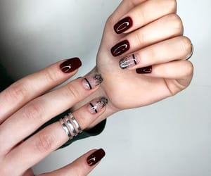 aesthetic, girls, and nails image