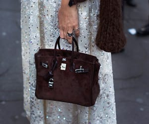 Birkin, dress, and fashion image