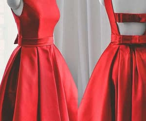 short prom dress, cute homecoming dresses, and a-line prom dress image