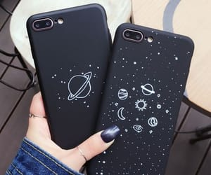iphone, black, and case image