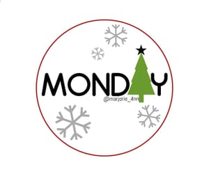 days, days of week, and monday december image