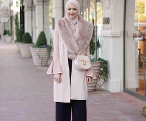 fashion, hijab, and winter image