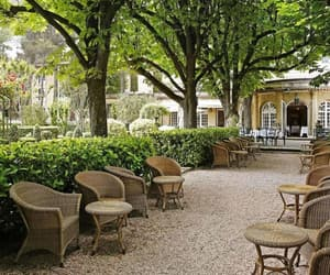 beauty, provence, and garden image