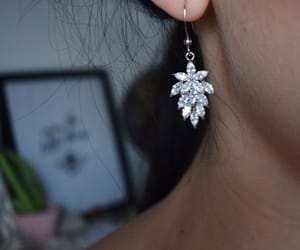 earrings, handcrafted jewelry, and sparkle image