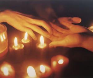 magic, candles, and magick image