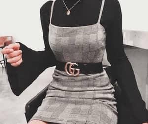 fashion, gucci, and dress image