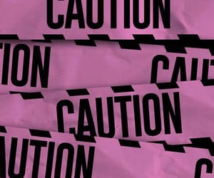 background, black, and caution image