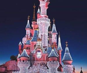 disney, castle, and paris image