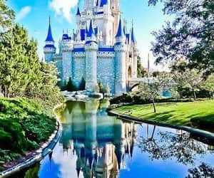 beautiful, castillo, and disney castle image