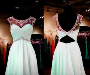 short prom dress, cheap prom dress, and homecoming dresses a-line image