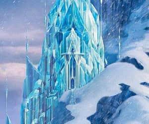 frozen, disney, and castle image