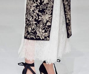 coat, lace, and Couture image